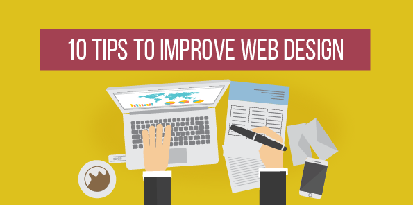 10 Tips to Improve Web Design, Infographic