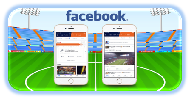 Facebook is Now Connecting People over Sports via Sports Stadium