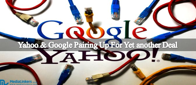 Yahoo & Google Pairing Up For Yet another Deal