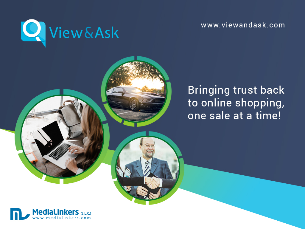 View and Ask Launches New Type of Buy & Sale Site!